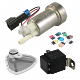 Walbro Fuel 460 Pump & Power Package (Fuel Pump, Fuse, Relay and Stainless Filter)